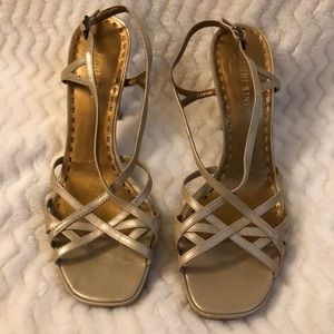💛3 for $15 shoes💛 Gianni Bini strappy heels 7.5